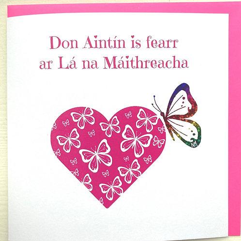 Don Aintín is fearr...