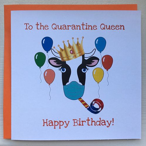 To The Quarantine Queen