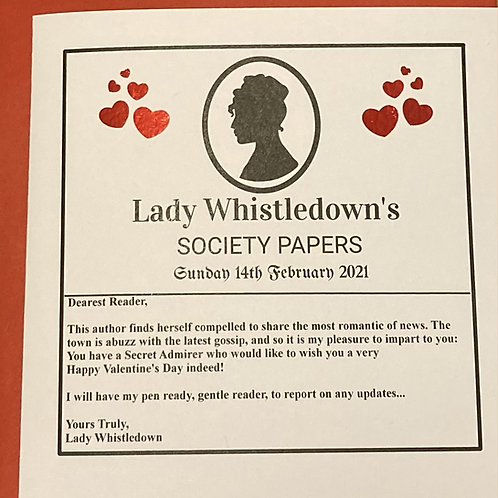 Lady Whistledown's Valentine's Day