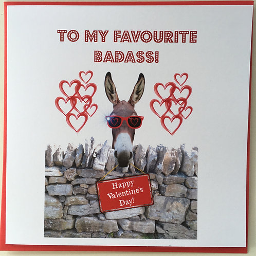 To My Favourite Badass!