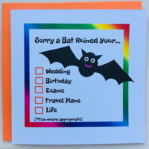 Sorry a Bat Ruined Your...