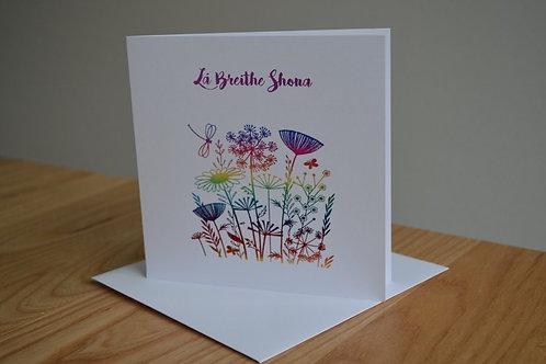 Lá Breithe Shona - Flowers