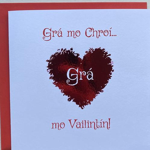 Grá mo chroí mo Valentín