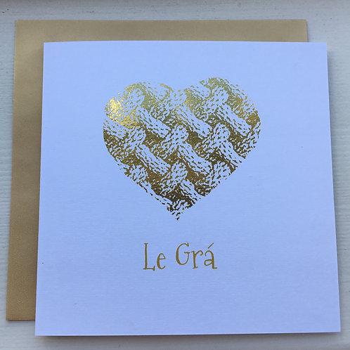 Le Grá - Gold Heart