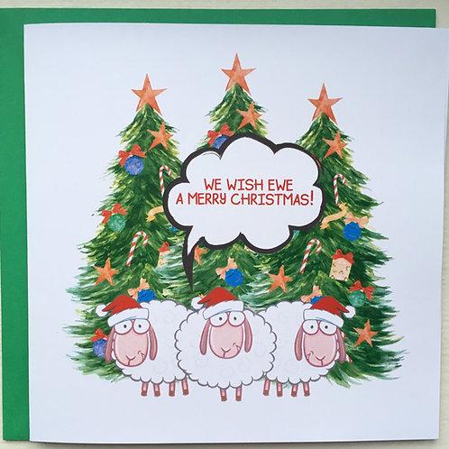 We Wish Ewe a Merry Christmas!