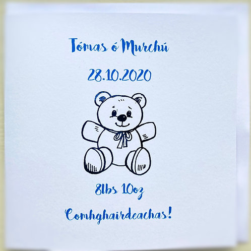 Personalised Baby Boy