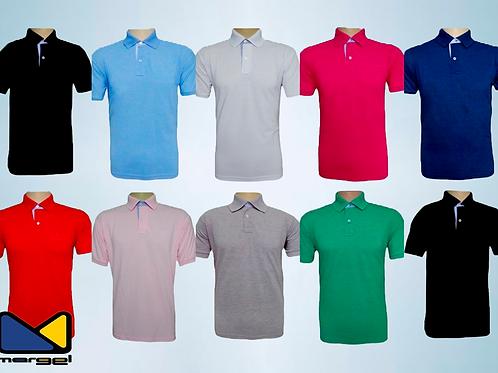 Camisetas Polo em PV