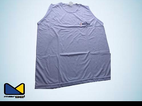 Camiseta regata colégio Alma Mater