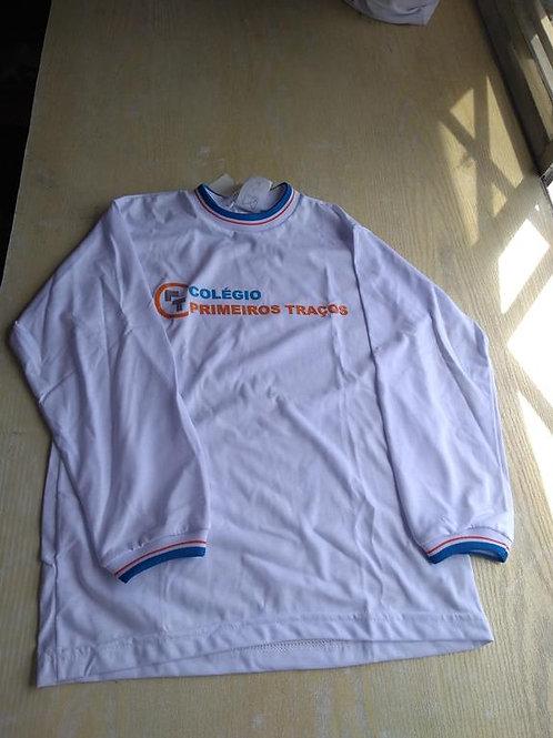 Camiseta manga longa Primeiros Traços