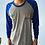 Thumbnail: Camiseta raglan colégio alfabeto