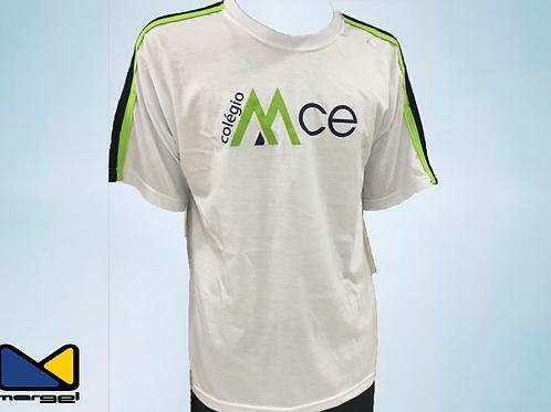 Camiseta gola careca colégio MCE