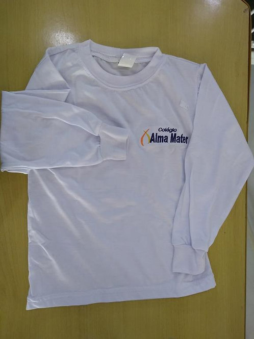 Camiseta Manga longa colégio Alma Mater