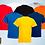 Thumbnail: Camisetas gola careca em algodão