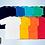 Thumbnail: Camisetas gola careca em PV