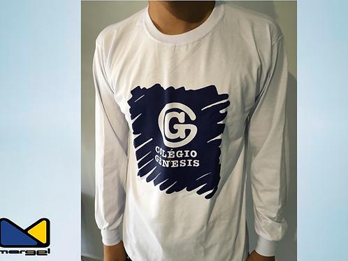 Camiseta Manga longa colégio Genesis