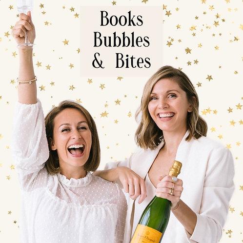 Books, Bubbles & Bites