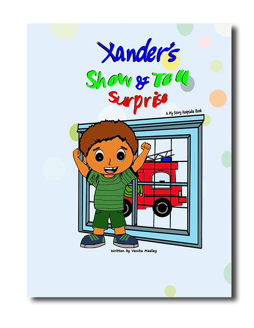 Xander's Show & Tell Surprise