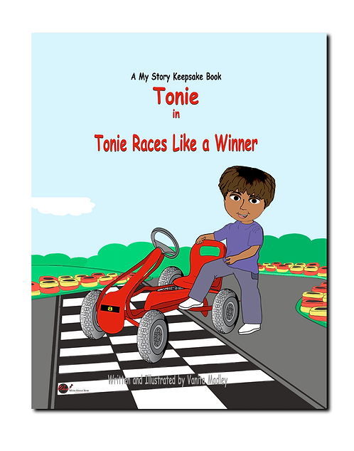 Tonie Races Like a Winner Book Cover