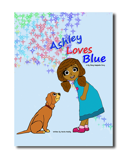 Ashley Loves Blue