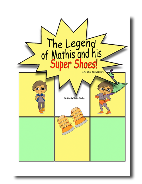 The Legend of Mathis and his Super Shoes!