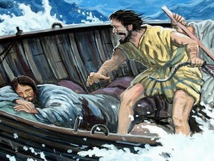 Does it Seem Jesus is Sleeping While You're Drowning?