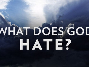 What Does God Hate?