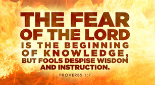 What Happens When We Don't Fear the Lord?