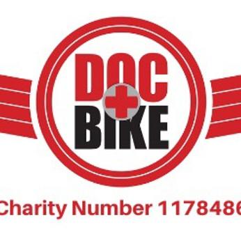 DocBike Dorset cheque Presentation