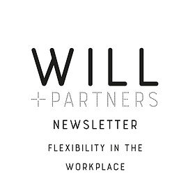 WILL + PARTNER newsletter_flexibility.jp