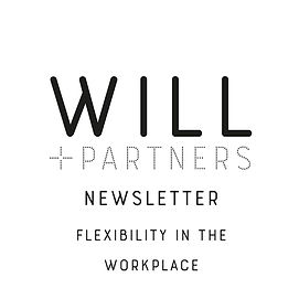 WILL + PARTNER newsletter_flexibility.jp