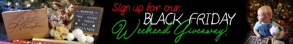 Black Friday giveaway/sale