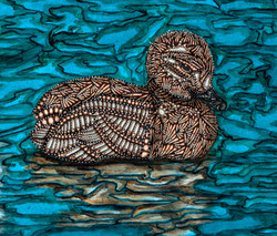 The Ugly Duckling - duckling detail