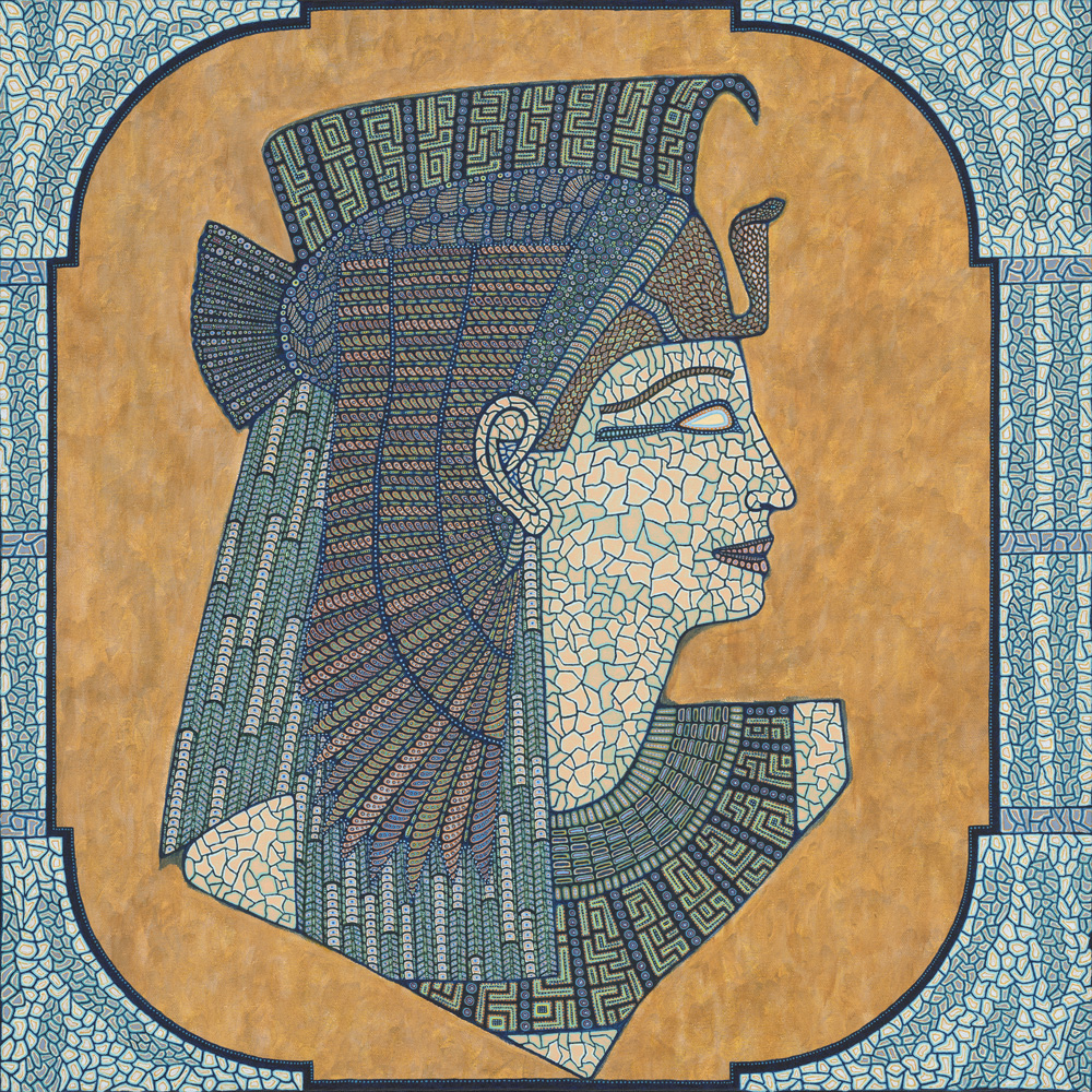 Portrait of an Egyptian Lady-web