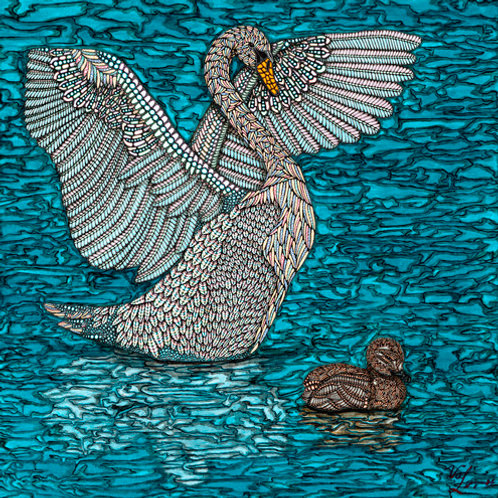 """Valerie Levkulich Signed Artist Proof  - """"The Ugly Duckling"""""""