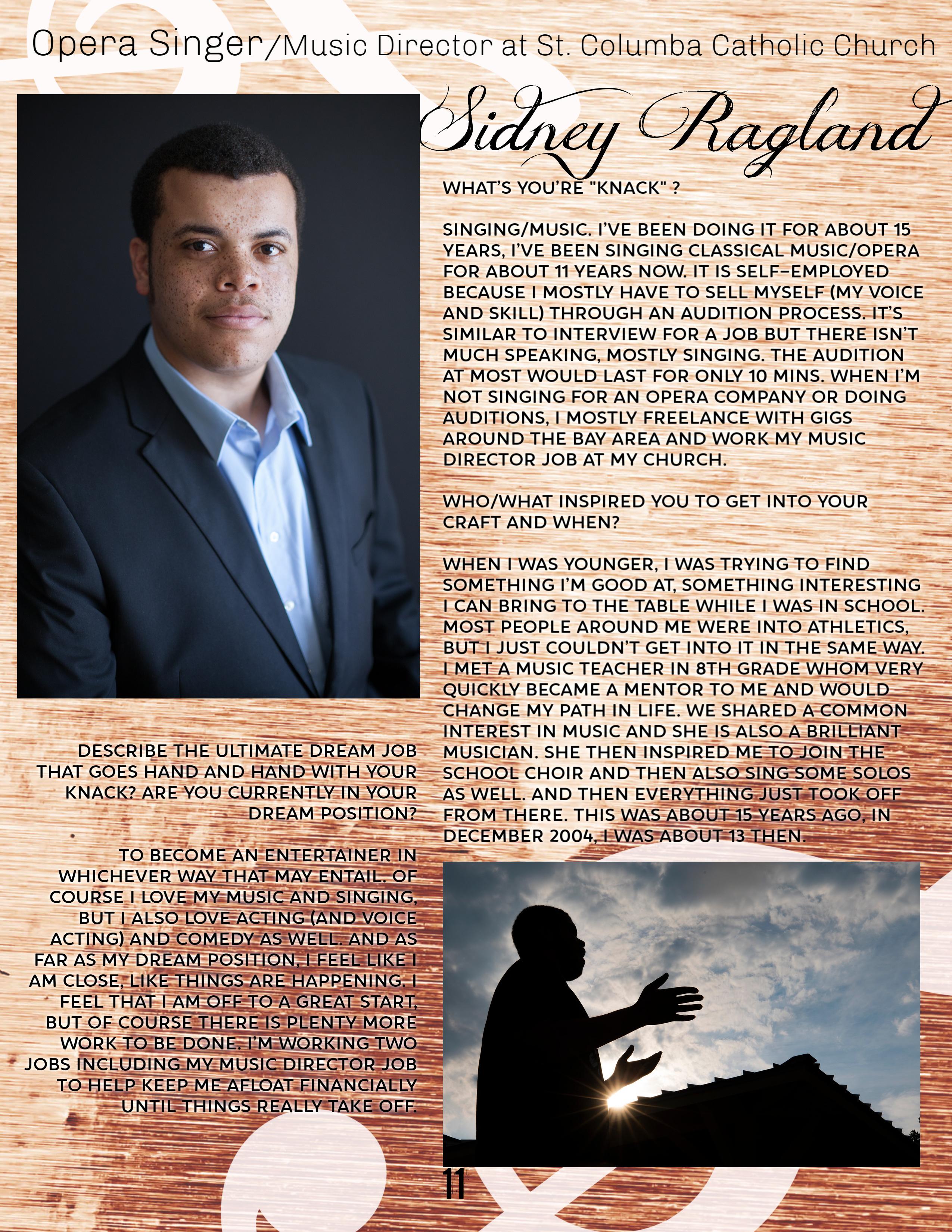 11 Sidney Ragland