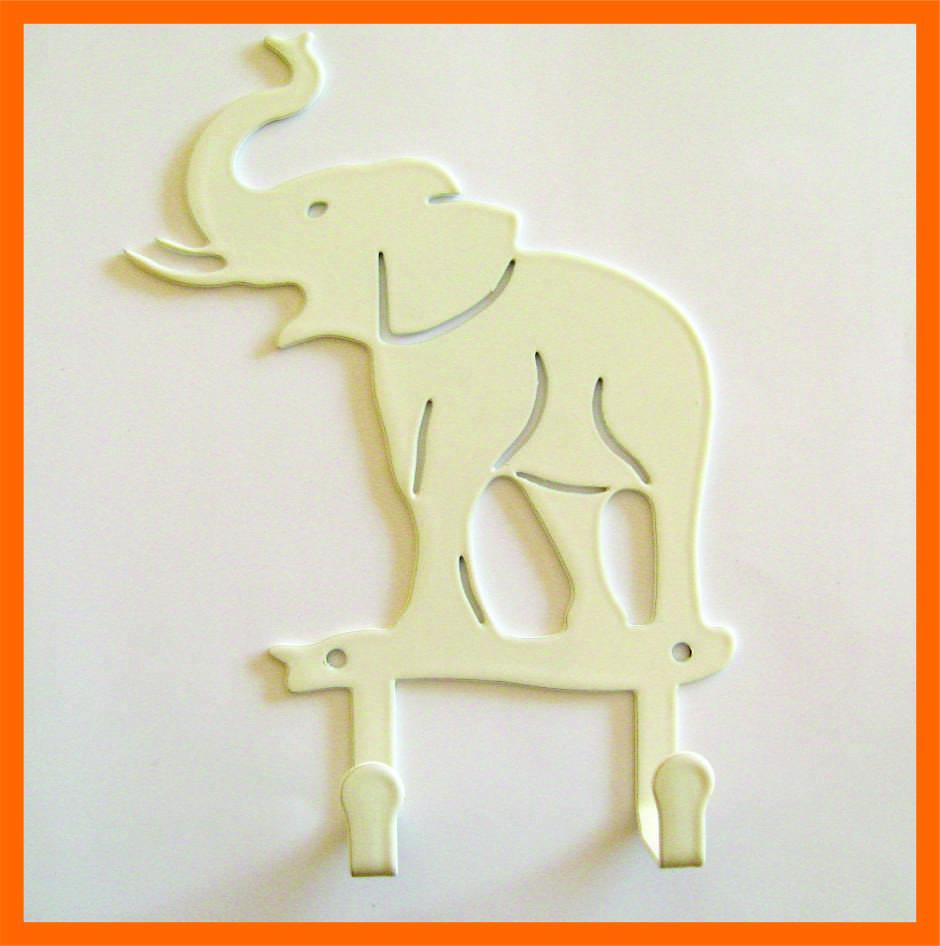 Крючок для одежды слон