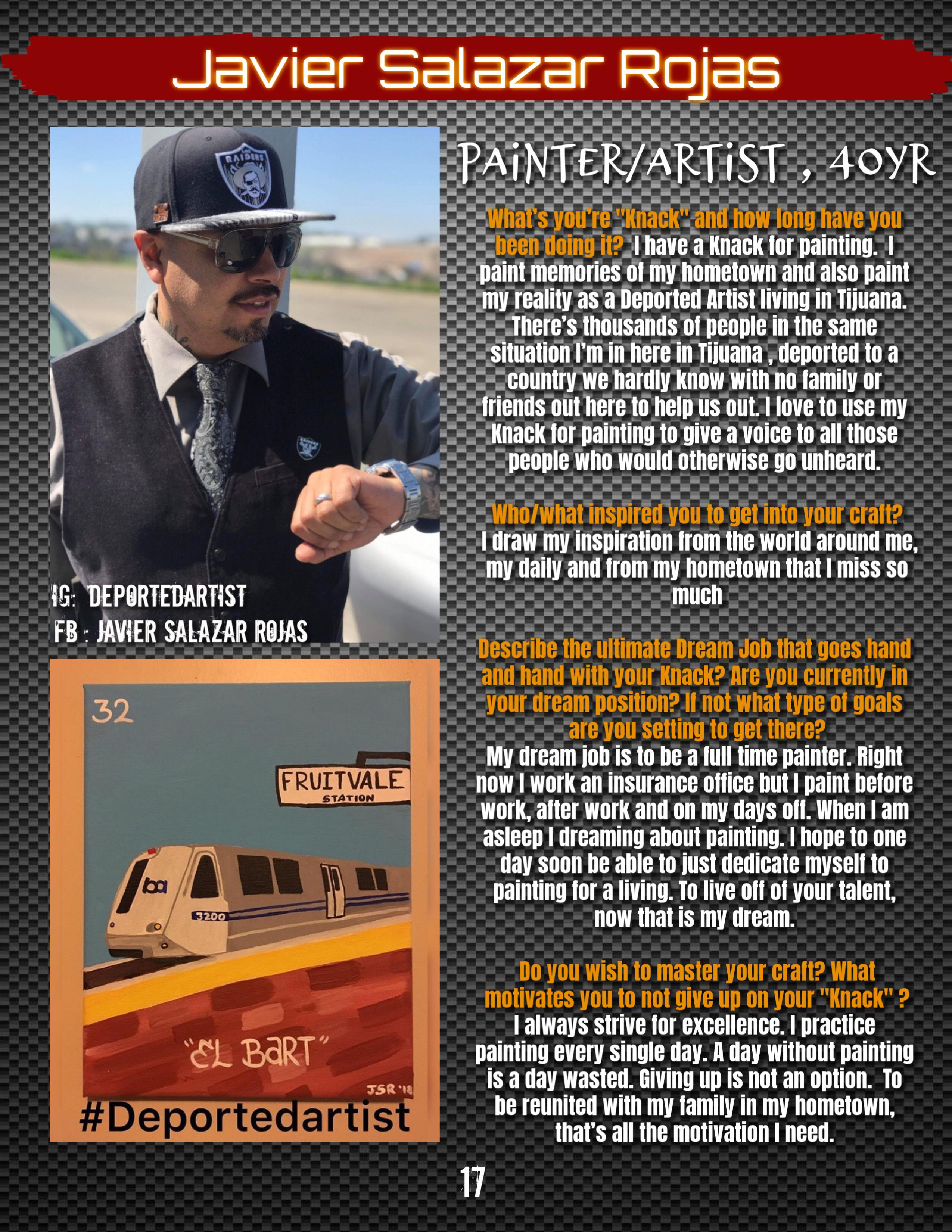 17 Deported Artist