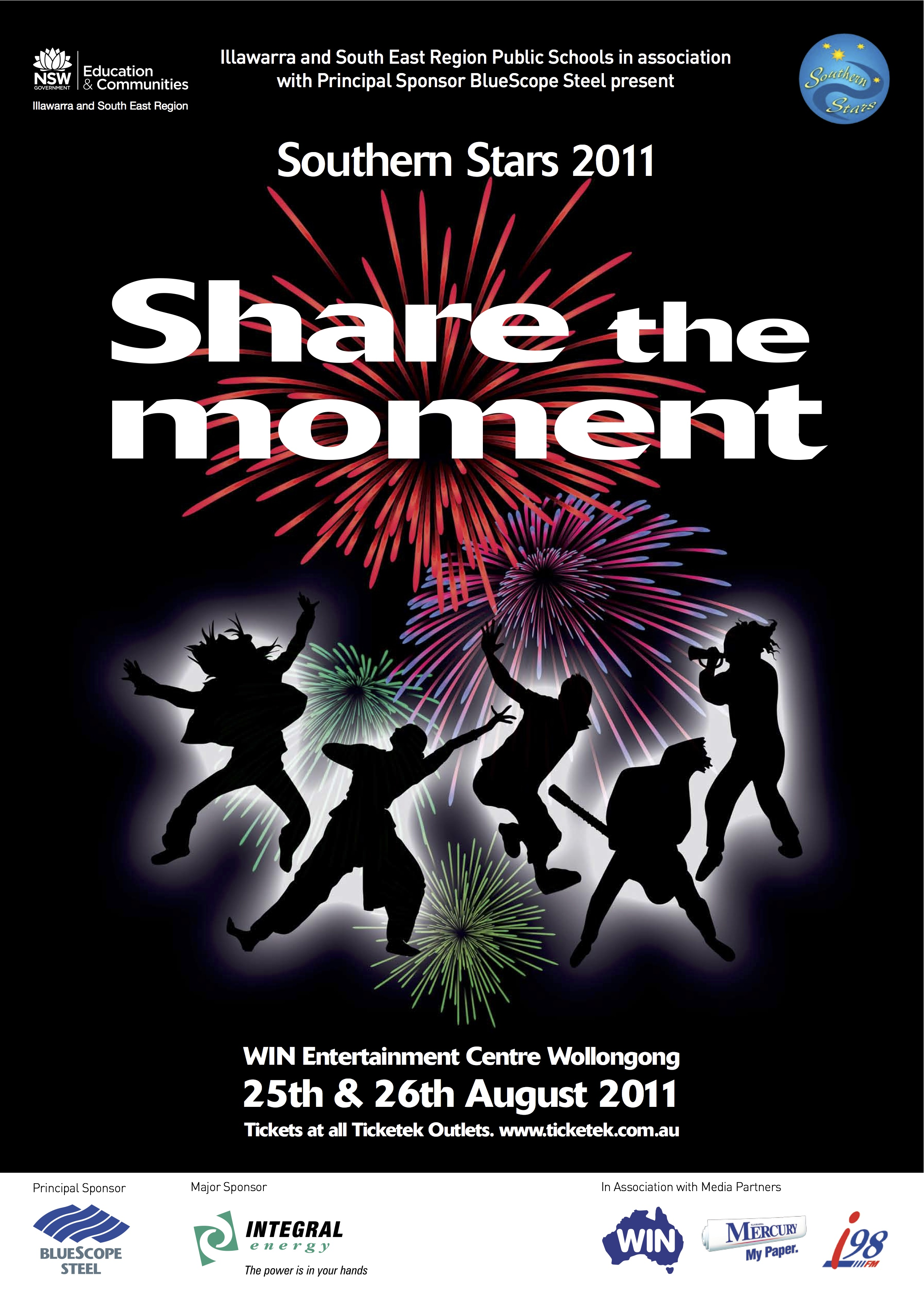 2011 Share the Moment poster