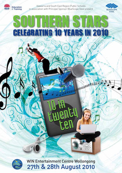 2010 10in2010 poster