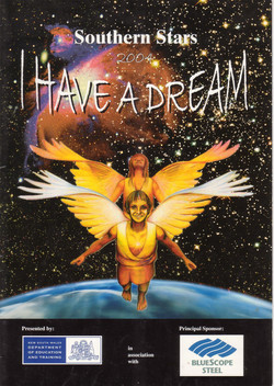 2004 I Have A Dream poster