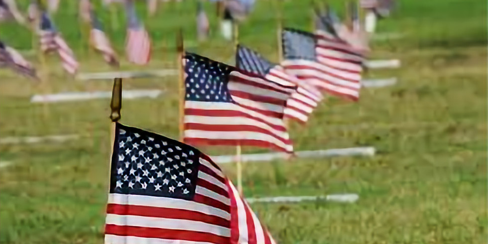National Memorial Cemetery Flag Placement
