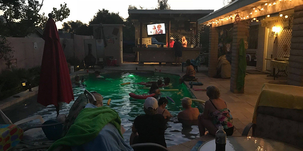 Dive-In Movie and Christmas in July