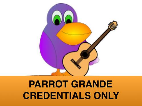 Parrot Grande Credentials