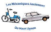 Logo les mécaniques ancienes du haut-lignon