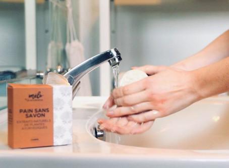 Comment éviter d'avoir les mains sèches