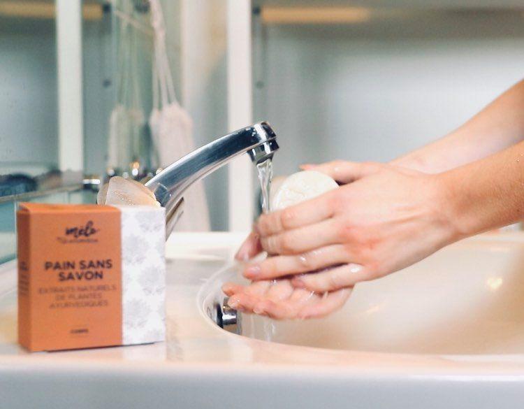 savon pH neutre pourpeau sensible et eczema