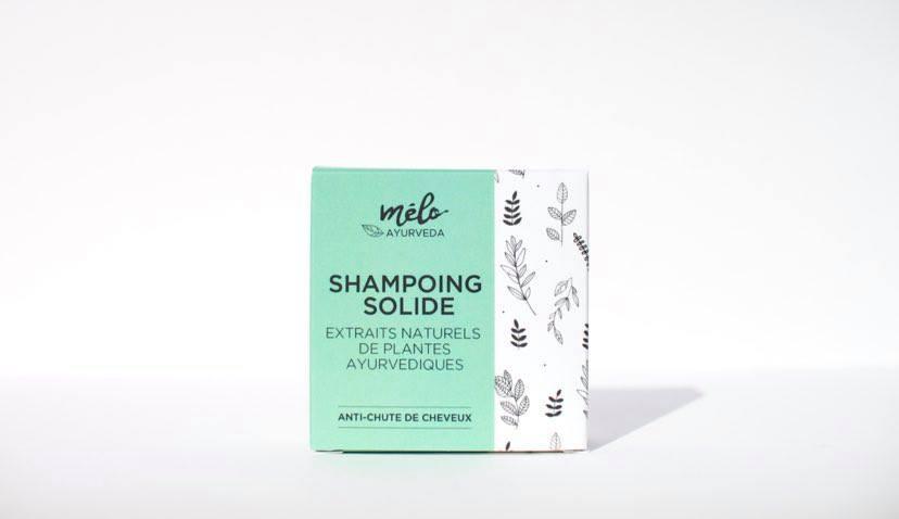 shampoing solide anti chute de cheveux pH 5,5