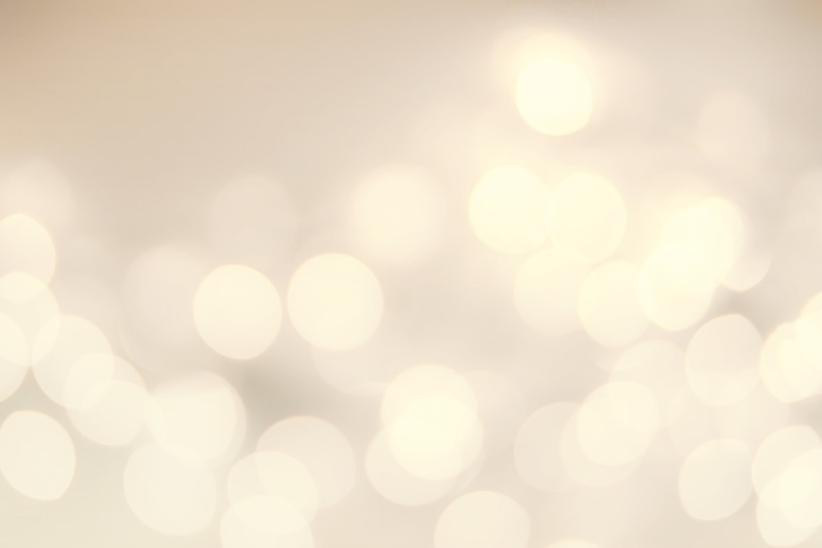 Vintage Christmas Background With Bokeh