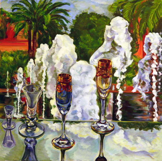 'Paillon Fountains Dancing With Flutes'