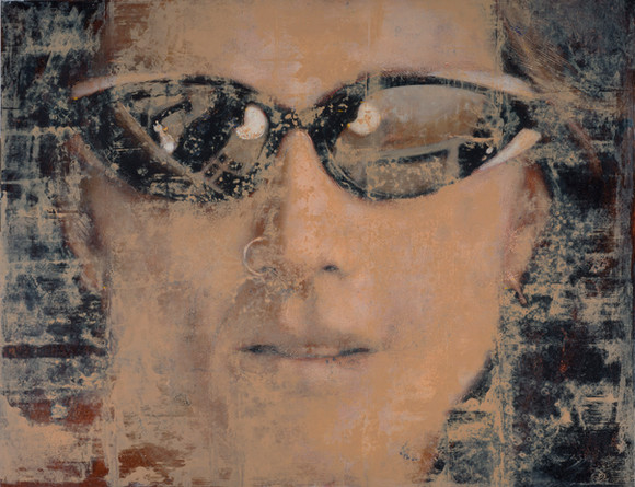 'Lucy with Sunglasses'